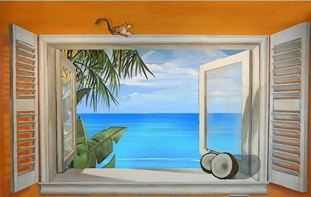 尚雅惠墙绘艺术